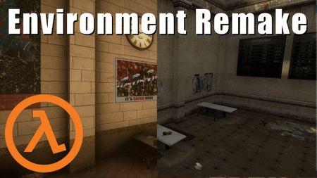 Half Life 2 Subway Station Remake