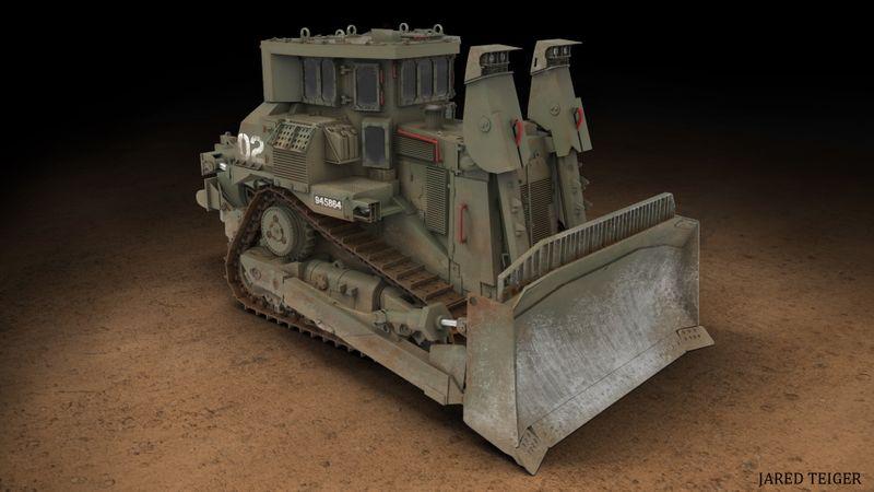 D9R Military Bulldozer