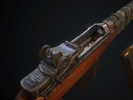 M14 gun model