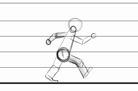 Simplistic Robot Walkcycle