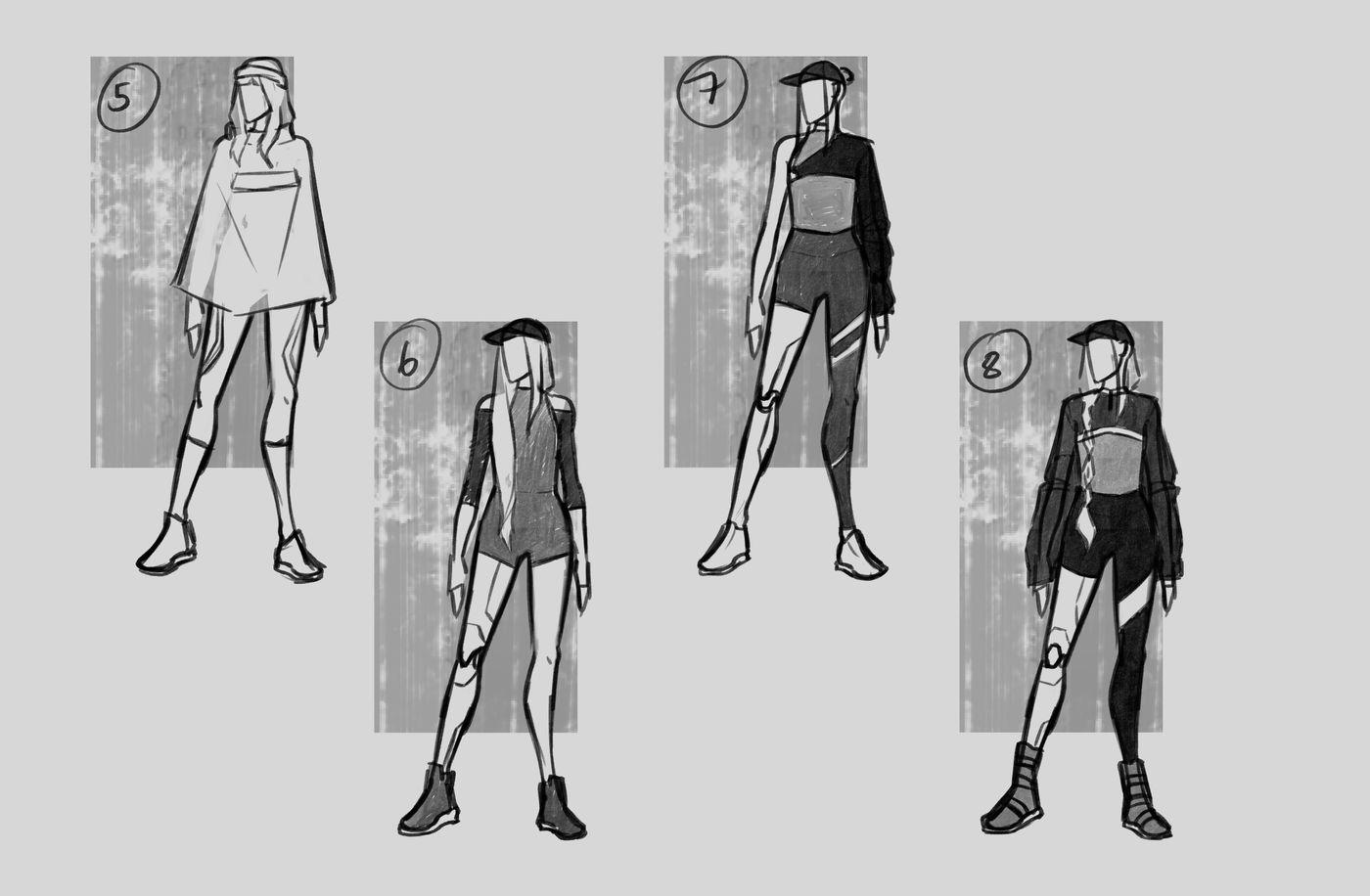 Steer Jasmine %20 Scme3420 Rookies %20 Character Design Thumbnails02 Jasminesteer