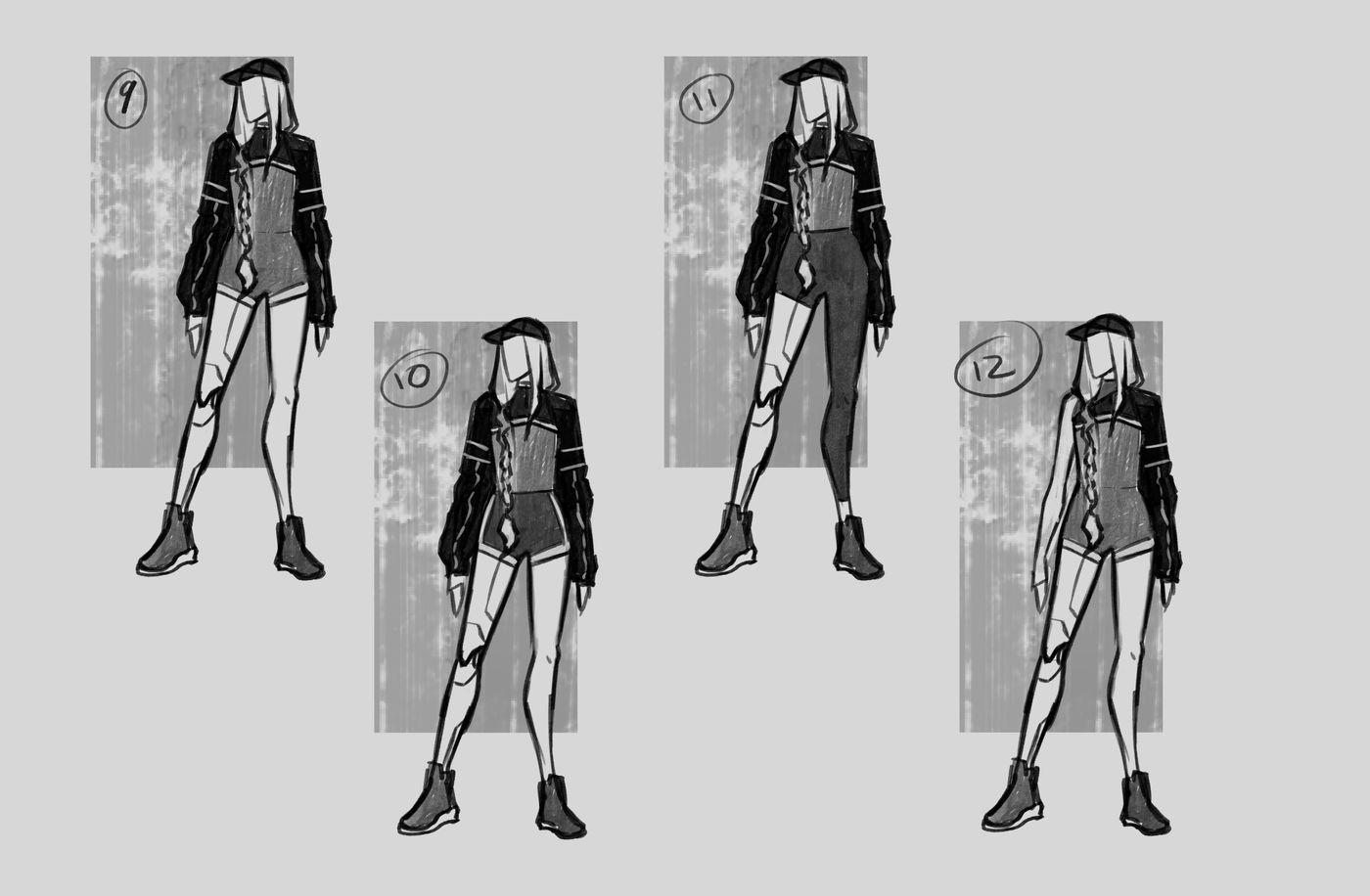 Steer Jasmine %20 Scme3420 Rookies %20 Character Design Thumbnails03 Jasminesteer