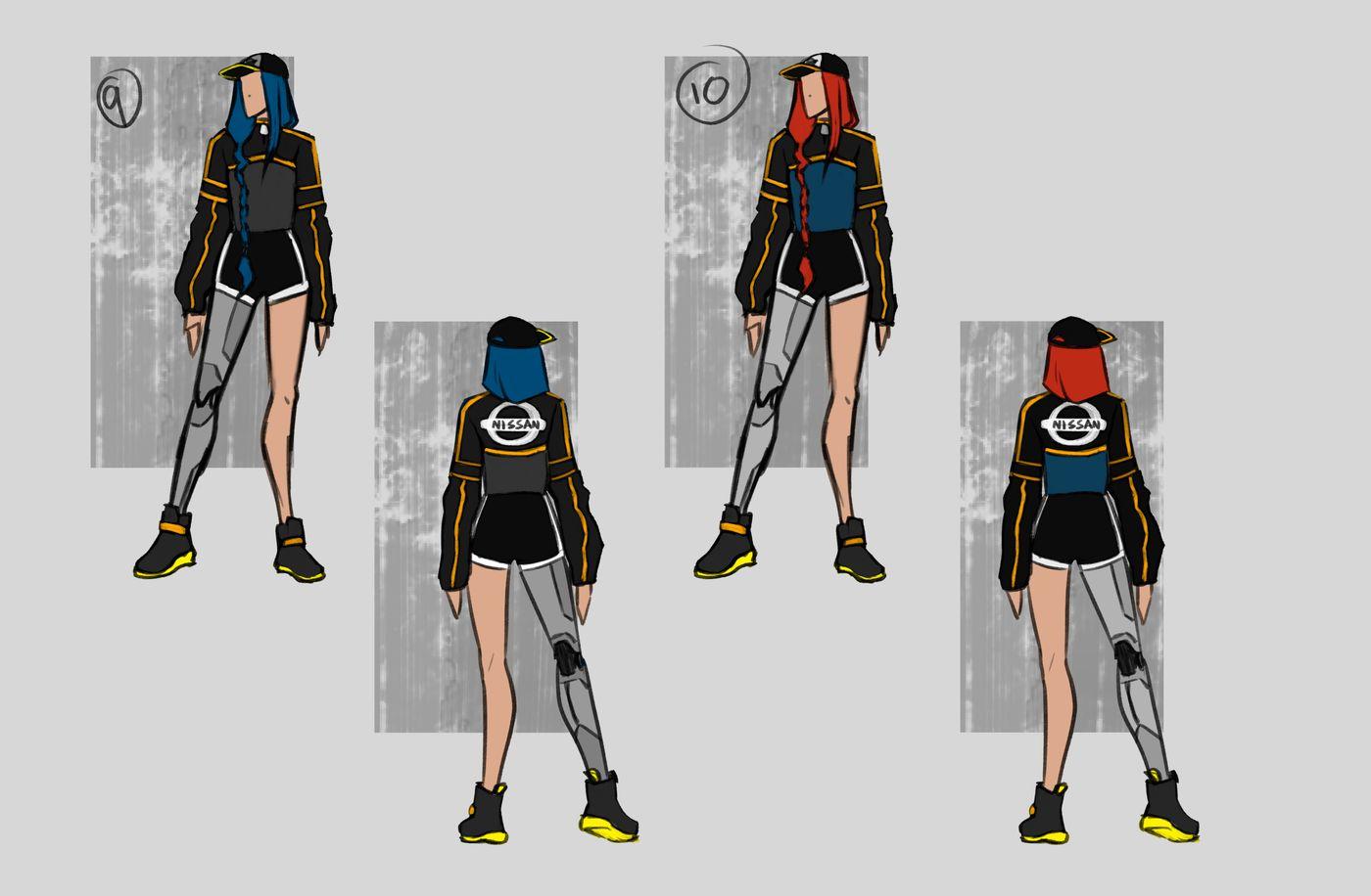 Steer Jasmine %20 Scme3420 Rookies %20 Character Design Colour Passes05 Jasminesteer