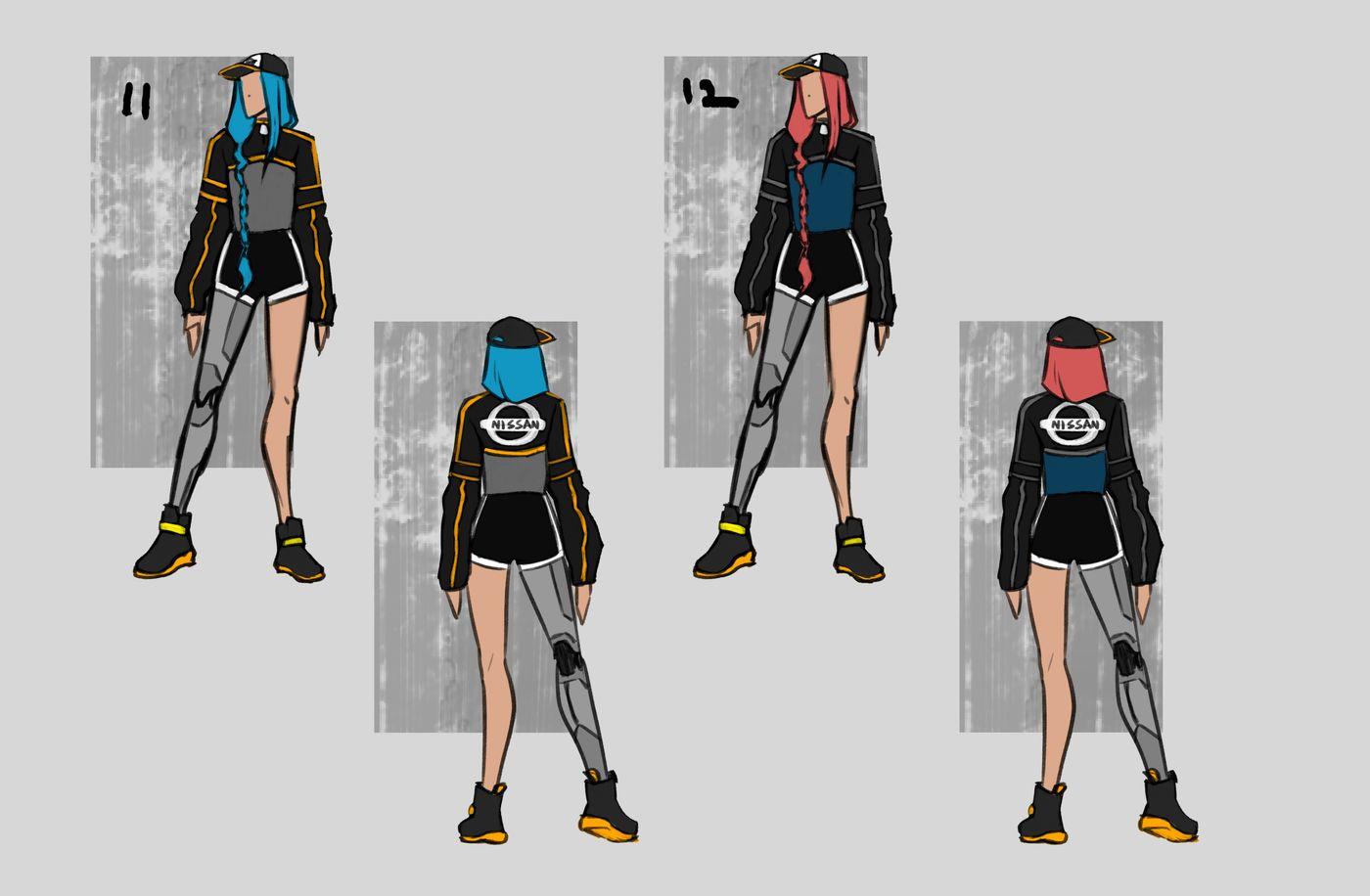 Steer Jasmine %20 Scme3420 Rookies %20 Character Design Colour Passes06 Jasminesteer