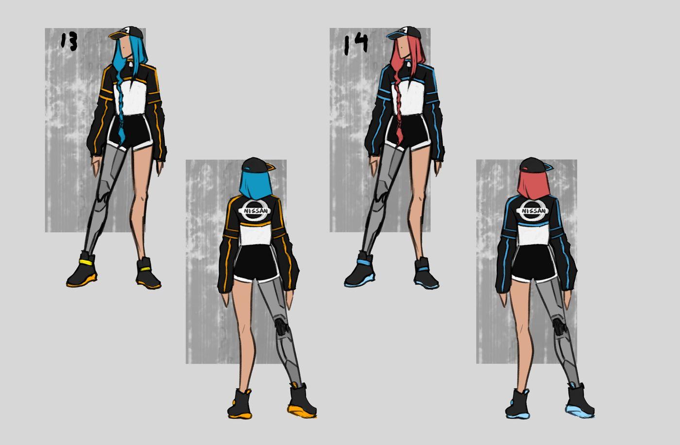 Steer Jasmine %20 Scme3420 Rookies %20 Character Design Colour Passes07 Jasminesteer