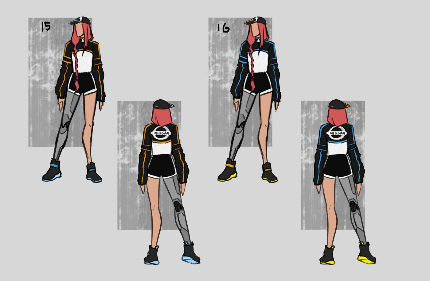 Steer Jasmine %20 Scme3420 Rookies %20 Character Design Colour Passes08 Jasminesteer