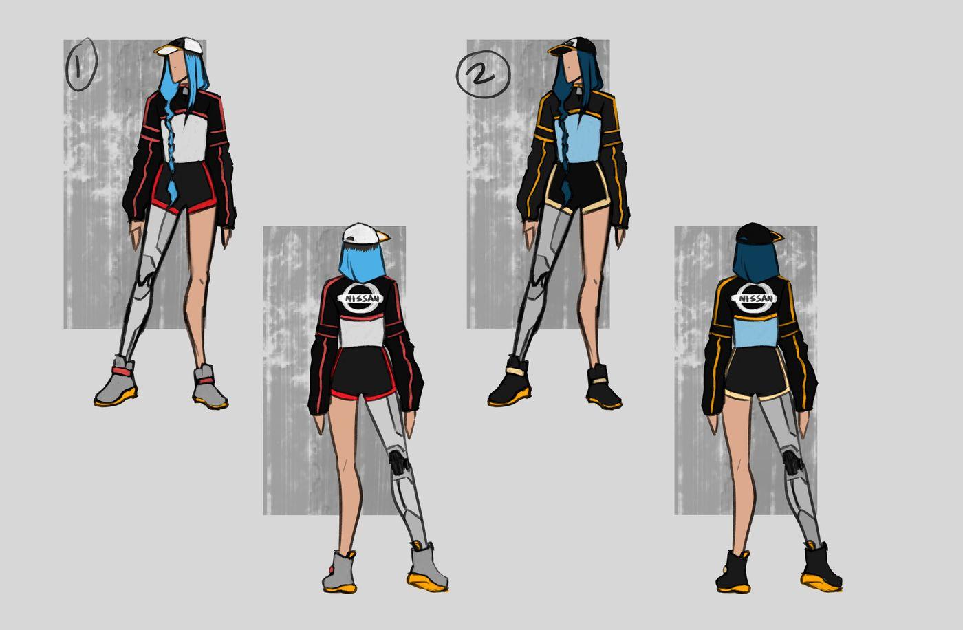 Steer Jasmine %20 Scme3420 Rookies %20 Character Design Colour Passes01 Jasminesteer