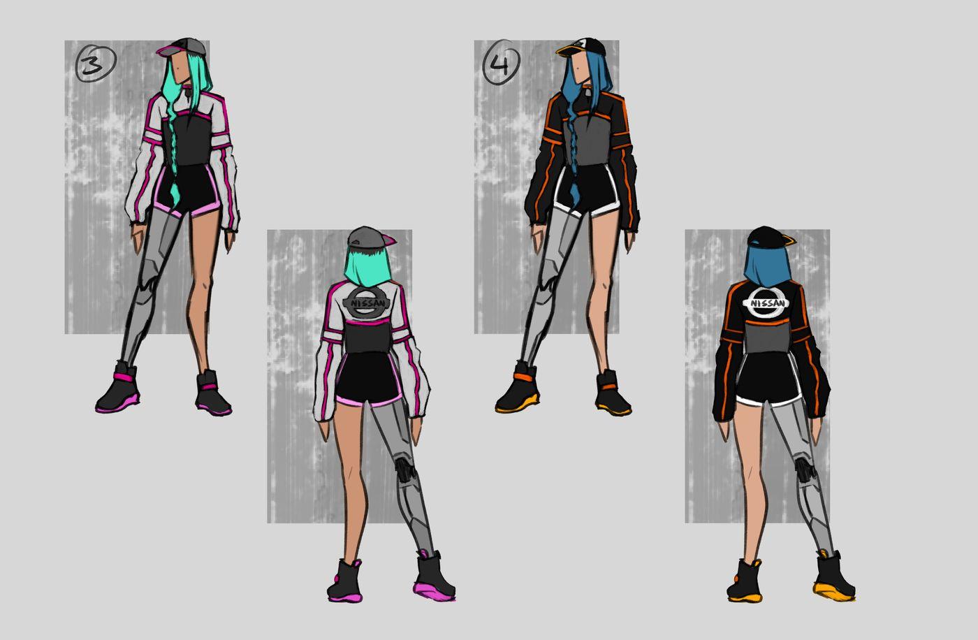 Steer Jasmine %20 Scme3420 Rookies %20 Character Design Colour Passes02 Jasminesteer