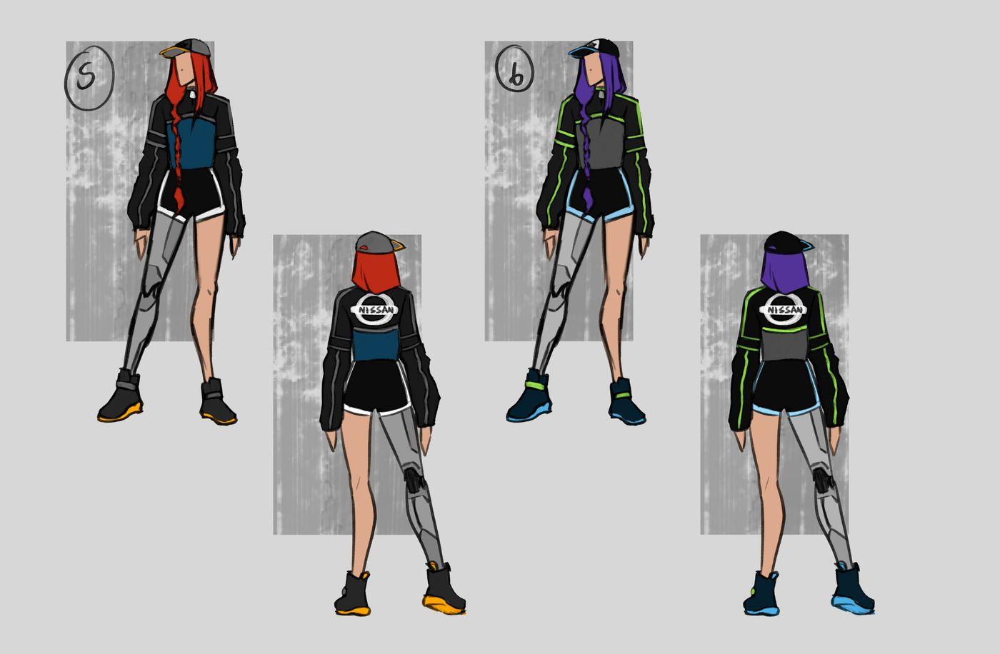 Steer Jasmine %20 Scme3420 Rookies %20 Character Design Colour Passes03 Jasminesteer
