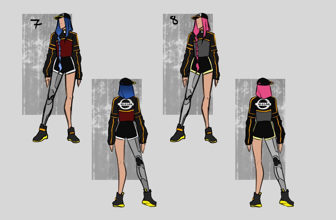 Steer Jasmine %20 Scme3420 Rookies %20 Character Design Colour Passes04 Jasminesteer