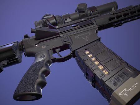 John Wick's AR-15