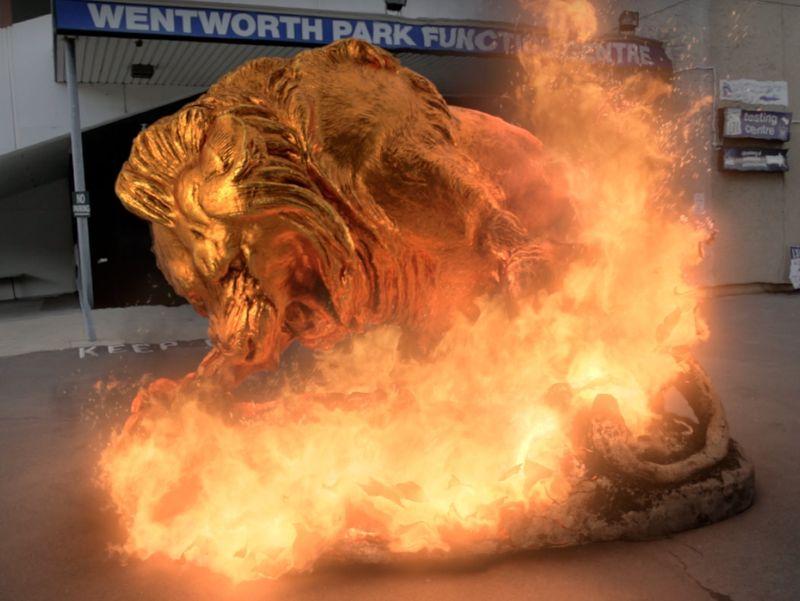 Cloth & Fire Disintegration