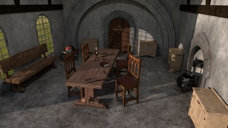 Medieval Room Concept