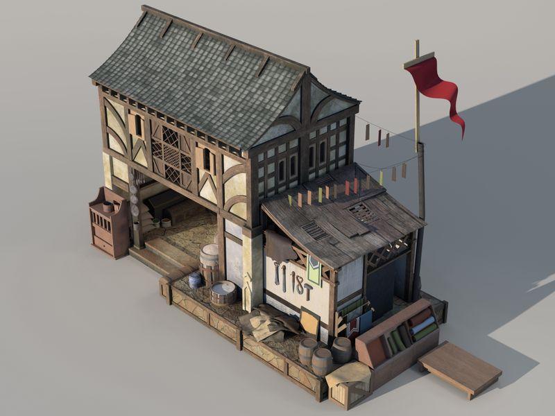 Japanese Merchant House