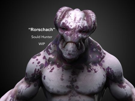 """Rorschach"" the soul hunter."