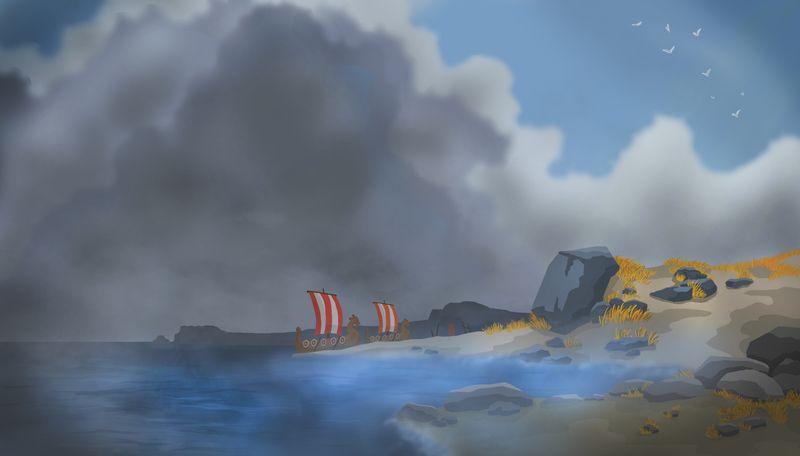 Landing on Britannia