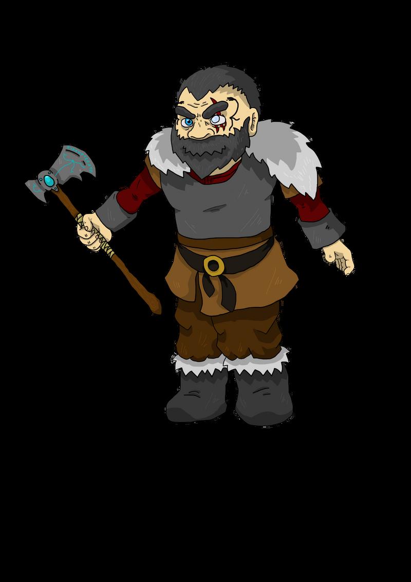 Character Design: Viking