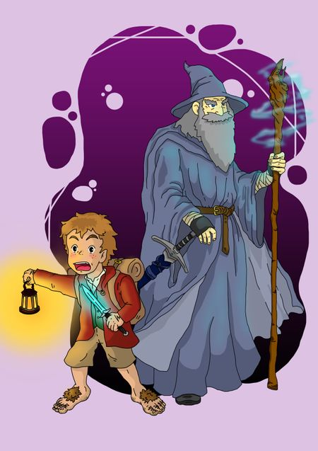 Bilbo & Gandalf : An Unexpected Journey