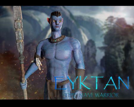 Eyktan: The Na'vi Warrrior