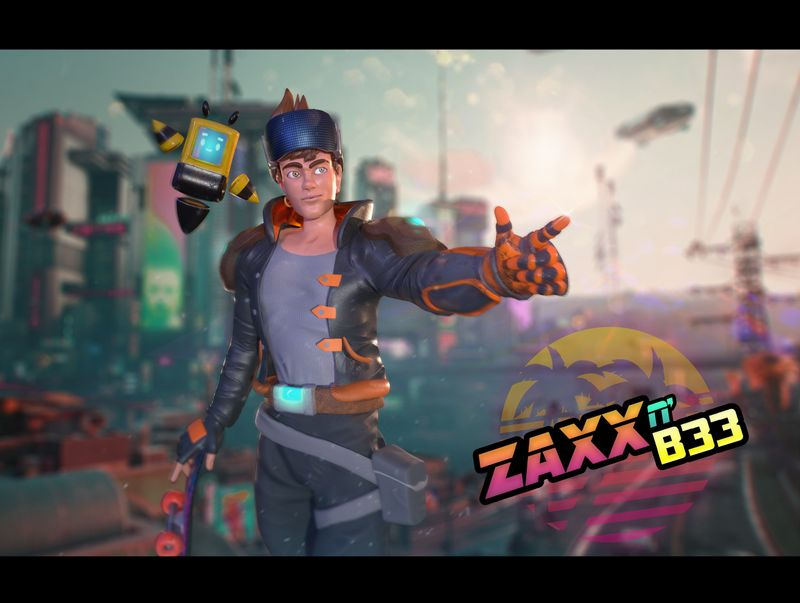 Zaxx n' B33: The Time Travelers
