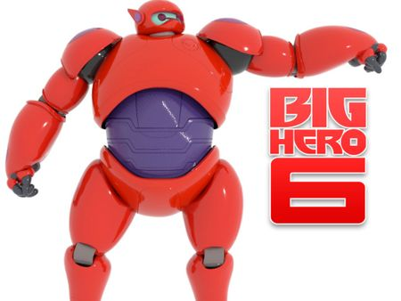 Baymax Action Toy