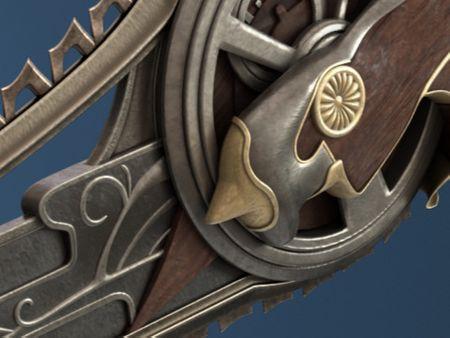 Millking's Saw [Final Fantasy Fan Art]