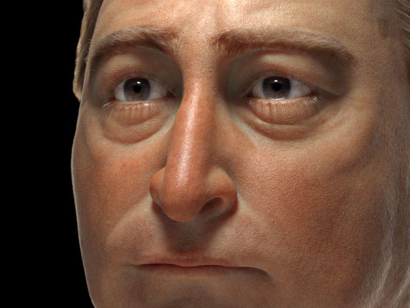 Head 3D study