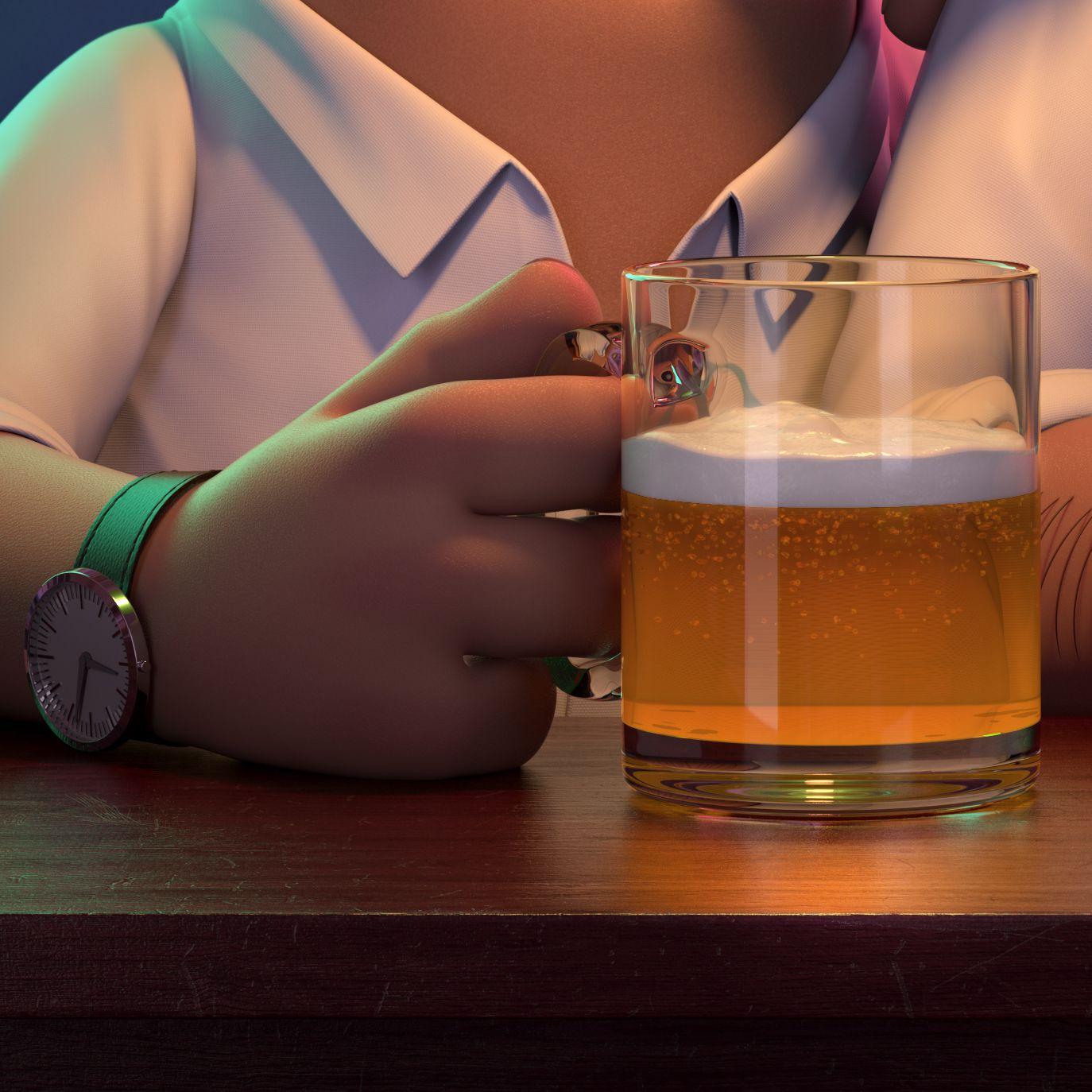 Pub Guys Render 4k Detail 3 Javierpedreno