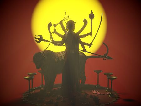 Durga, Hindu Goddess -- Game character