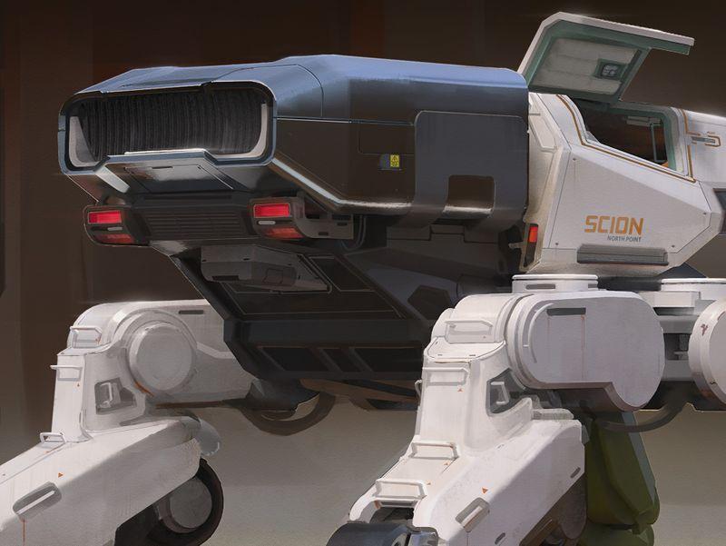 Scion Mech - [rear]