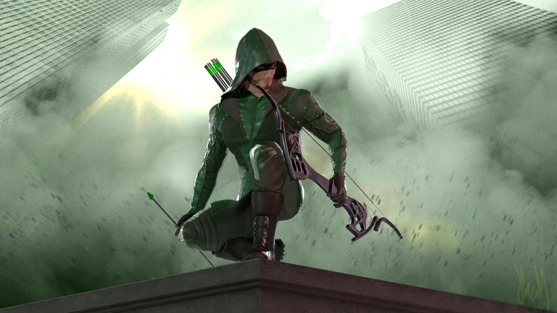 Season 8 - Oliver Queen/Green Arrow