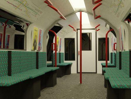 Subway Train 2020