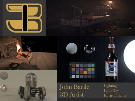 John Bacile - 3D Lighting and Environment Artist