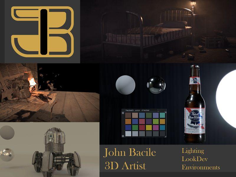 John Bacile - 3D Lighting and Environment Artist