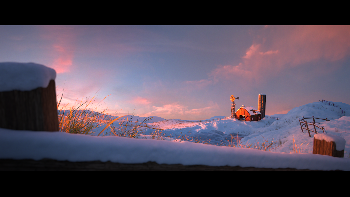 [3D ENVIRONMENT] Peaceful Morning