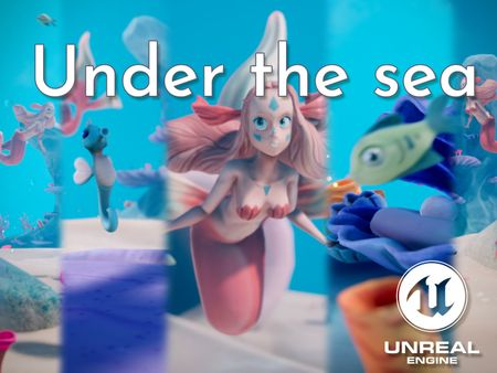 Under the sea | Diorama