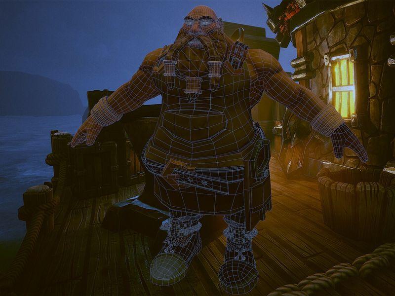 Stylized Dwarf
