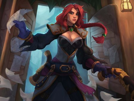 Captain Miss Fortune Fan Art