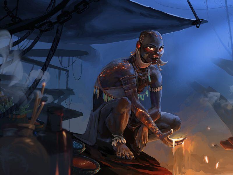 Lava shaman
