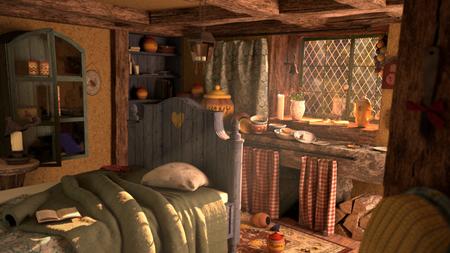 Winnie's bedroom