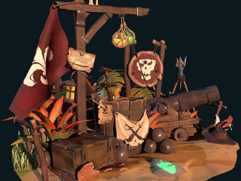 Sea of Thieves Scene - Fan Art