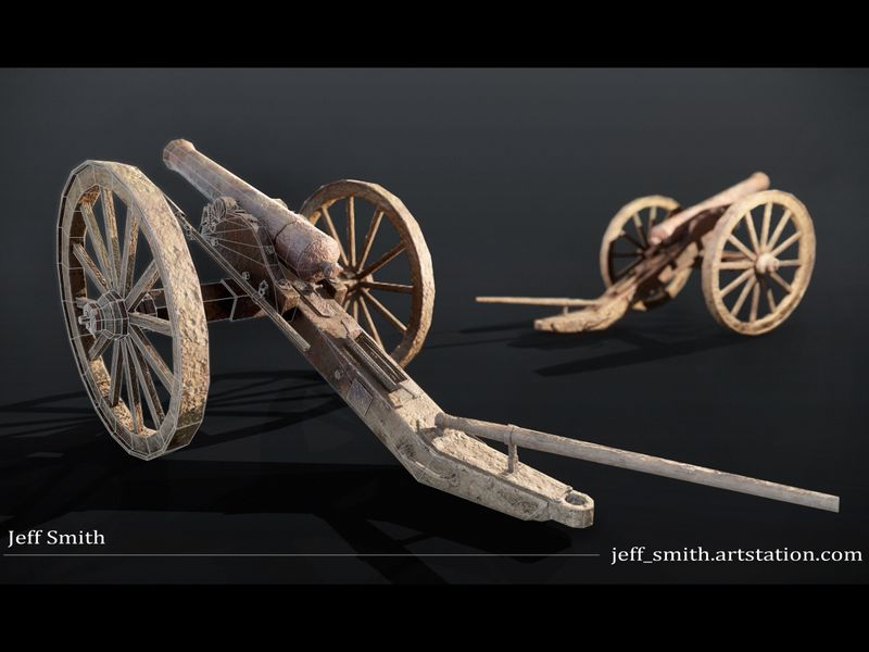 Battle Worn Cannon
