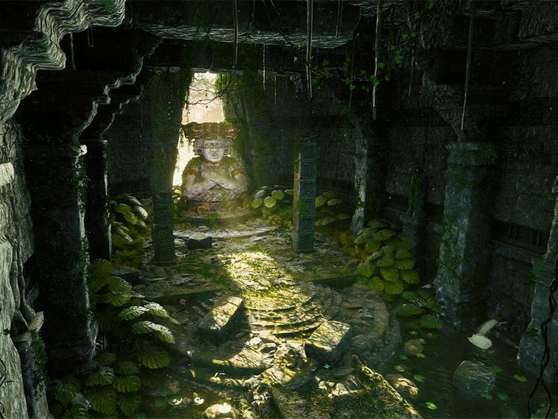 Ancient Jungle Temple