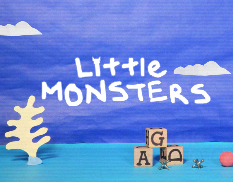 "Nickeloden "" Little Monsters"""