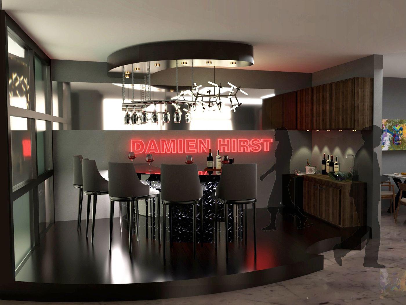 Residential Design for Damien Hirst