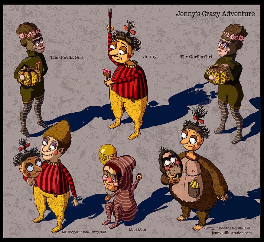 Jenny's Crazy Adventure