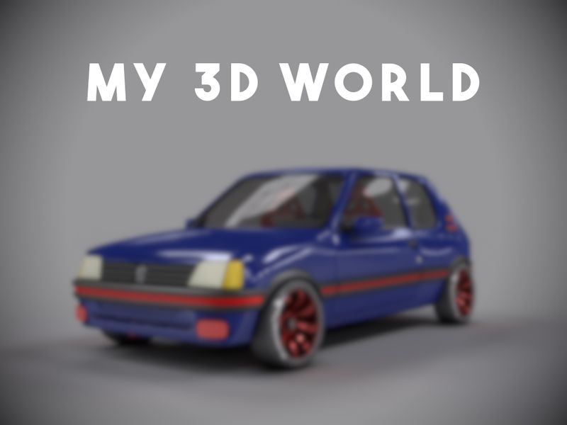 My 3D World