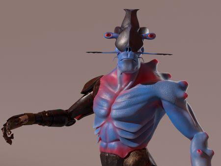 GUENOLE Alien - Character Alien