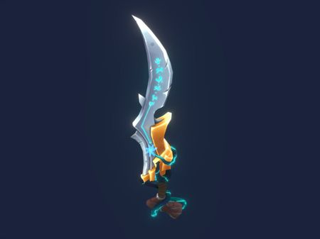 Stylized Elven Sword + more