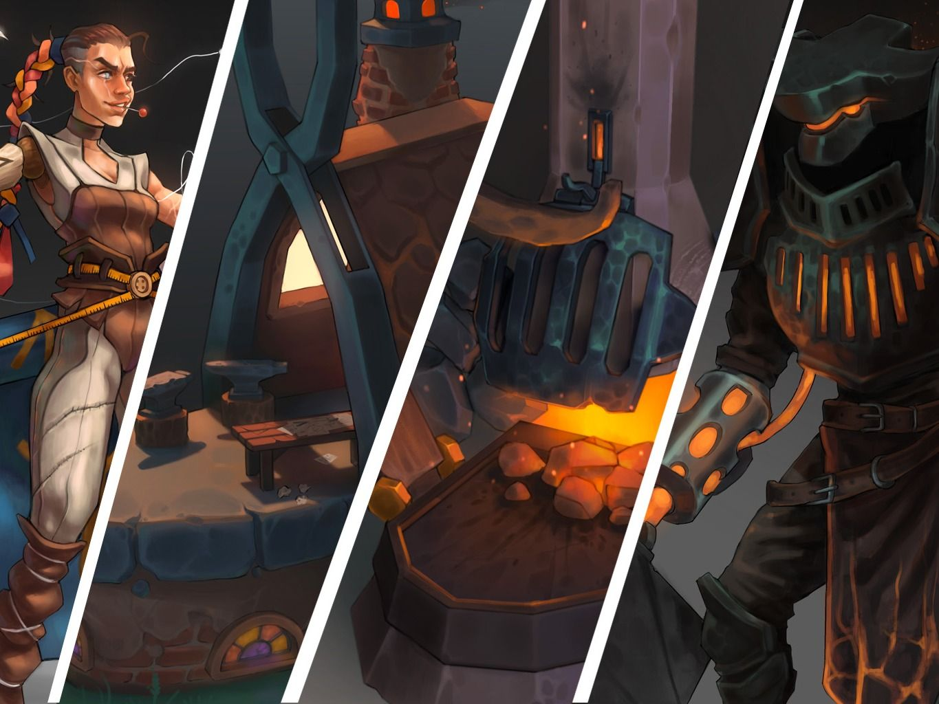 The Blacksmith and Tailor